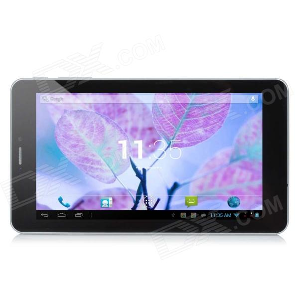 "CR711 7"" Capacitive Touch Screen 2G Phone Android 4.2 Tablet PC w/ Bluetooth, FM - White"
