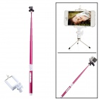 Dispha G-499R Carbon Fiber Bluetooth Retractable Monopod for GoPro 2 / 3 / IPHONE + More - Red