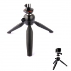 YUNTENG G-574 Mini Tripod Mount for Digital Camera / GoPro Hero 2 / 3 / 3+ - Black