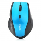 Rapoo 7300 2.4GHz Wireless Optical Gaming Mouse - Black + Blue
