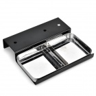 Detachable M Shaped + Spring Slot Soldering Iron Holder - Black + Silver