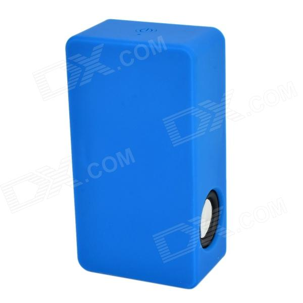 Mini Sensor Speaker w/ 3.5mm / Mini USB for Smartphones - Deep Blue (3 x AAA)
