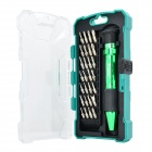 Pro'skit SD-9608 Aluminum Alloy Multi-in-1 Screwdriver Bit Set - Black + Green + Silver