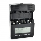 Buy TangsFire BT-C2000 12V 1A 4-Slot Ni-MH / Ni-Cd AA AAA Battery Power Charger - Black
