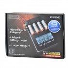 TangsFire BT-C2000 12V 1A 4-Slot Ni-MH / Ni-Cd / AA / AAA Battery Power Charger - Black