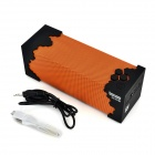 Bopmen Alimenté par USB Mini Wireless Bluetooth V3.0 Subwoofer w / microphone - Orange + Noir