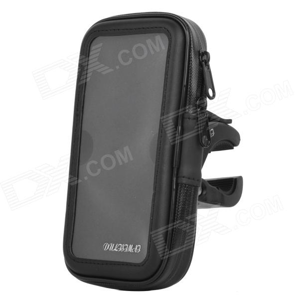 DULISIMAI Bike Mounted Waterproof Case for Samsung Galaxy S5 - Black