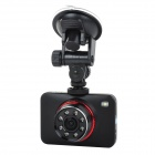 "CS1000L 0 2.65"" TFT HD Wide Dynamic Low Lux Wide-angle IR LED Night Vision Car DVR Video Recorder"