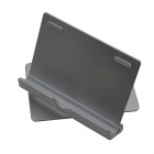 ZJ-003 360 Degree Rotatable Fold Mini Bracket for IPAD and Mobile Phone - Silver
