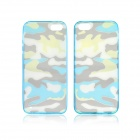 Angibabe Ultrathin Soft Acrylic Camouflage Hybrid TPU Back Case for IPHONE 5 / 5S