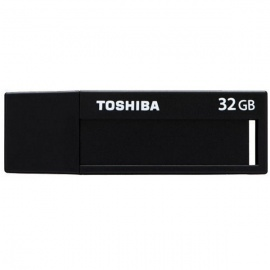 Toshiba V3DCH-032G-BK 32GB Flash Drive-Black + White