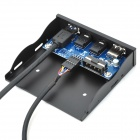 ZAP USB 2.0 + USB 3.0 + HD Audio Chassis Optical Drive Front Panel - Black