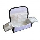 Safe Guard Exposion-Proof Fabric Storage Bag for RC Li-Po Battery - Silver