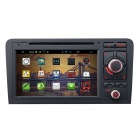 "7 ""Android 4.2 kapazitiver Screen-Auto-DVD-Spieler w / IPS, GPS, RDS, WLAN, Radio, AUX, BT für Audi A3"