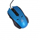 Runheteng RT-122 USB 2.0 Gaming Mouse - Black + Blue