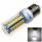 ZHISHUNJIA E27 9W 630lm 6000K 48-5050 SMD LED White Light Maize Lamp - White (AC 85~265V)