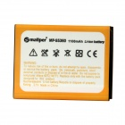 "Mallper Replacement 3.7V ""1100mAh"" Li-ion Battery for Samsung Galaxy Y S5360 - Orange"