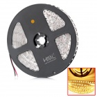 Buy HML 3528 48W 2300lm 3300K 600-SMD LED Warm White Light Strip - + Yellow (12V / 5M)
