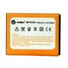 "Mallper Replacement 3.7V ""1500mAh"" Li-ion Battery for Samsung Galaxy S2 i9100 - Orange"