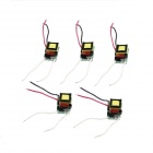 3 x 1W LED Dimmer Power Supply Driver - Yellow + Green (AC 110V / 5 PCS)