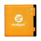 "mallper BP-6MT replacement 3.7V ""950mAh"" li-ion akku Nokia N81 / N82 / E51 / N81 / (8G) / 6720C"