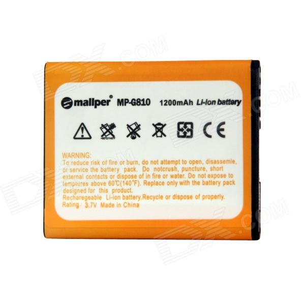 Mallper Replacement 3.7V 1200mAh Li-ion Battery for Samsung 6230c / B5722 / B7702 mallper mp i8160 3 7v 1275mah replacement li ion battery for samsung i8160 i8190 s3 mini