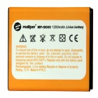 "Mallper Replacement 3.7V ""1200mAh"" Li-ion Battery for Samsung Galaxy S i9000 - Orange"