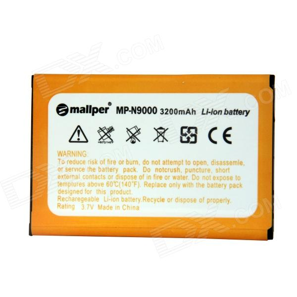Mallper Replacement 3.7V 3200mAh Li-ion Battery for Samsung Galaxy Note 3 N9006 / N9005 / N9000 pisen mobile phone replacement 3200mah battery for samsung galaxy note 3 n9002 9006 9008 9009
