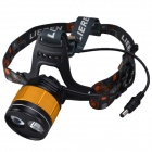 SingFire SF-355 CREE XP-E R3 + R2 250LM White + Blue Zooming LED Headlamp (2 x 18650)