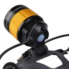 SingFire SF-355 250LM Blanc + Blue Zooming LED Headlamp (2 x 18650)