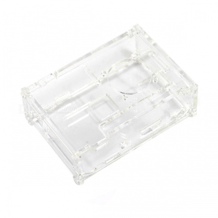 Protective Acrylic Shell Case for Raspberry Pi B+ - Transparent