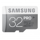 Samsung Electronics 32GB PRO Micro SDHC with Adapter Upto 90MB/s Class 10 Memory Card (MB-MG32DA/AM)
