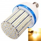 HZT-2001D E27 20W 1900lm 3000K 324-SMD 3528 LED Warm White Corn Lamp - Silver (AC 85~265V)
