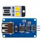 USB LED / Fan Driver Kit Driver Module Stepless Speed / Dimming + USB LED Module for Arduino / AVR