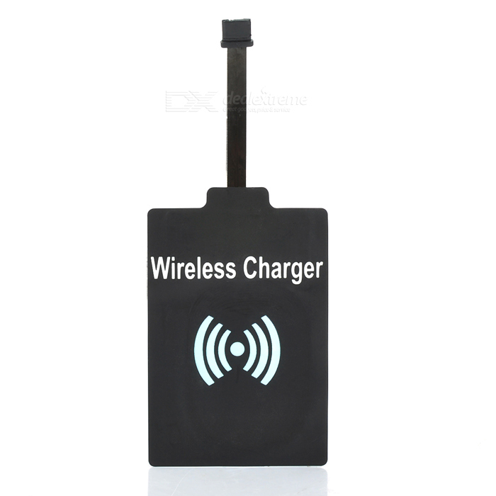 QI Standard TI Wireless Charger Receiver for LG G2 / D802 - Black universal qi wireless charger for cellphone white
