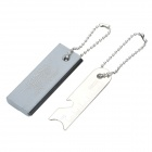 Magnesium Fire Starter Survival Tool with Fire Sparkle - Silver