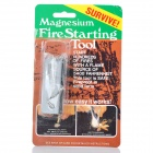 Magnesium Fire Starter Survival Tool with Fire Sparkle