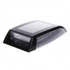 KEIZIK K-A333 8-LED Shark Gill Solar Side Vent Warning Light - Black