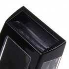 KEIZIK K-A333 8-LED Shark Gill Solar Side Vent luz de advertencia - Negro
