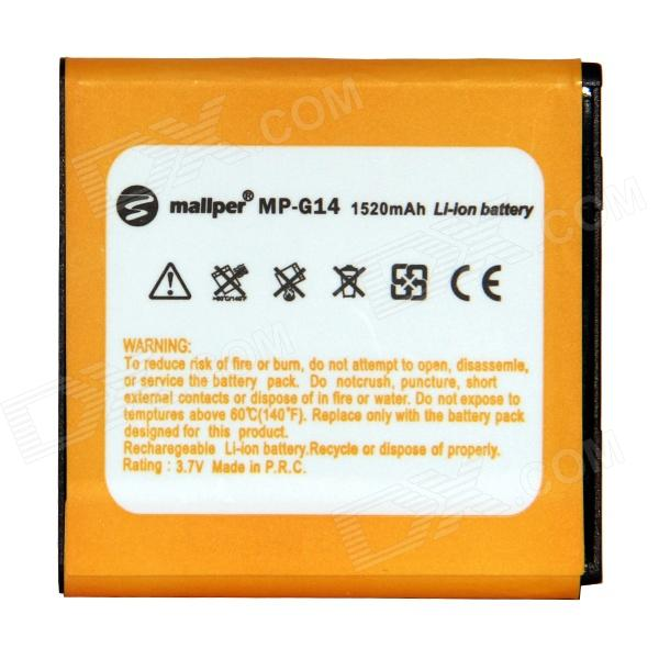 Mallper Replacement 3.7V 1290mAh Battery for HTC Sensation G17 / G14 / Z710E аксессуар защитное стекло activ 3d gold для apple iphone 7 plus 69560