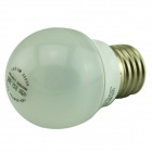 BROTHER BLD-PC03 E27 3W 250lm 3500K 10-SMD 2835 LED Warm White Bulb - Silver (AC 180~250V)
