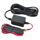 5V 1.5A Micro USB Port Power Cord w/ Low-Voltage Protection for Car DVR / GPS - Black (12~24V)