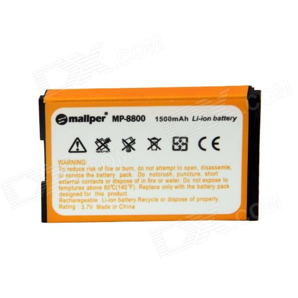 Mallper Replacement 3.7V 1275mAh Li-ion Battery for BlackBerry 8800 / 8820 / 8830 / 8350 - Orange mallper mp i8160 3 7v 1275mah replacement li ion battery for samsung i8160 i8190 s3 mini