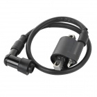 ZJ125 DIY Replacement Waterproof Ignition Coil for Motorcycle - Black