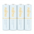 FUJITSU Rechargeable 1.2V 1900mAh Ni-MH Batteries Set - White (4 PCS)