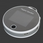 "H7 Portable 2.2"" LCD Bluetooth V2.1 Smart Hygeia Speaker w/ FM, TF, ECG Detection - White + Black"