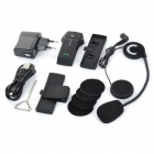 FDC-1000 Helmet Handsfree Phone Call Bluetooth Intercom Kit for Motorcycle - Black