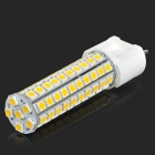 G12 9W 850lm 4000K 86-SMD 5050 LED Warm White Corn Lamp - White + Yellow (AC 220~240V)