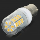SENCART B22 4W 200lm 3000K 42-SMD 5730 LED Warm White Corn Lamp - White + Transparent (AC 85~265V)