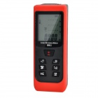 RZX-60 Digital Laser Distance Measuring Meter / Range Finder - Red + Black (2 x AAA)